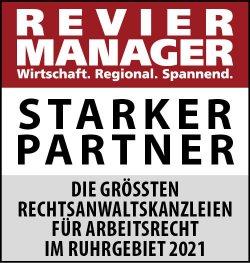 Revier Manager Platz 1 Starke Partner - Potthoff Kowol Frankhof